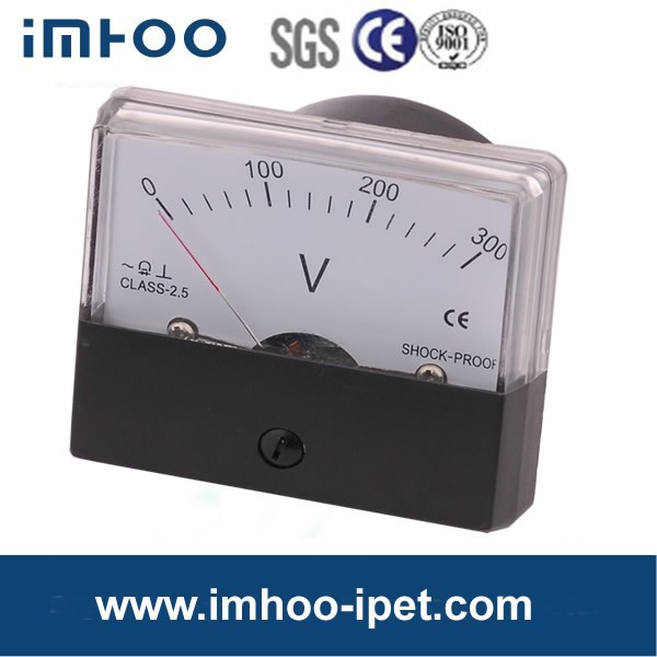 Mu-45 Panel Meters Analog Voltmeter