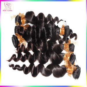 Hot Sale Products in 2018 Authentic 100% Human Hair Fashion Loose Wave Wedding Styles Waiting For You