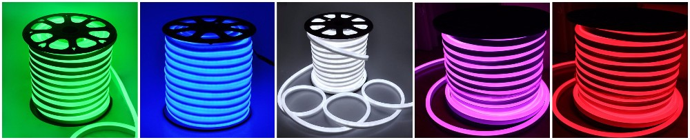 50m Spool Flexible Led Neon Lights 220v 240v 80led/m Led Neon ...