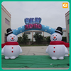Custom promotion outdoor inflatable arch model