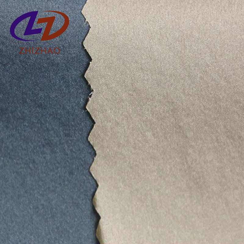 Nylon Stretch Pu Coating Lycra Fabric For Down Jacket