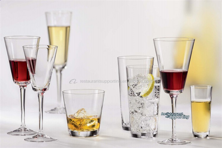 Wholesale Cheap Glassware Tall And Thin Drinking Glass Cup