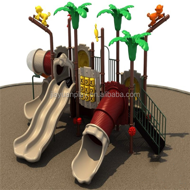 Forest themed commercial play space Playground Equipment