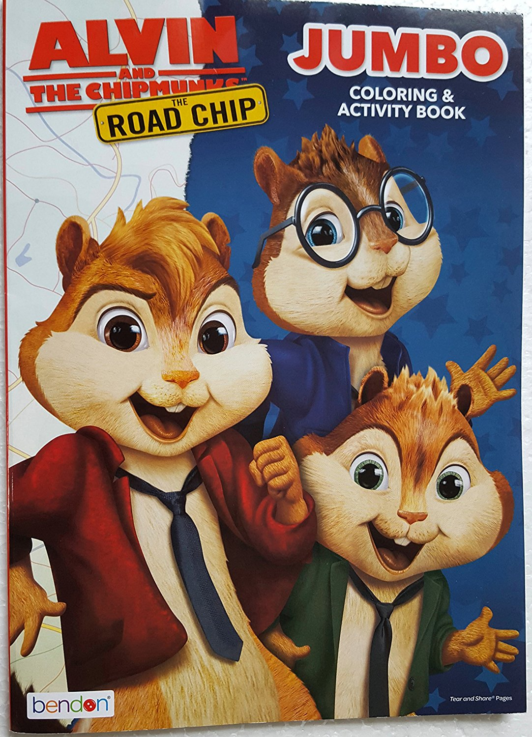Alvin And The Chipmunks 3 Images drawing & painting supplies 3 coloring books, over 30