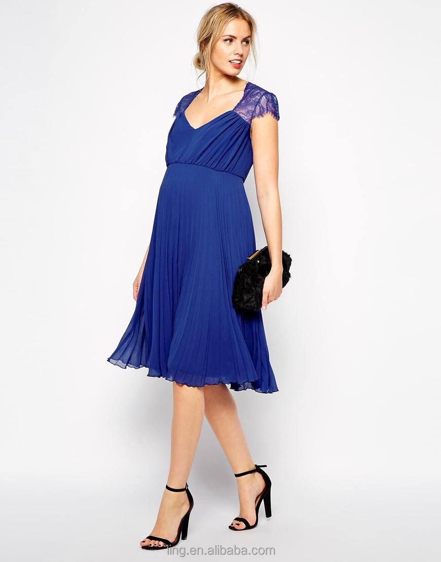 465f48a2e 2015 nueva moda de encaje formal vestidos para las mujeres embarazadas ropa