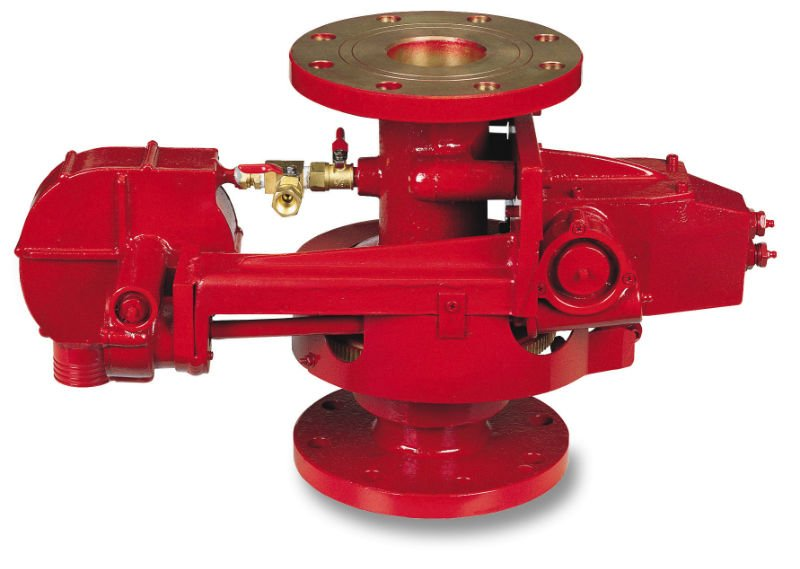 Fire Monitor Oscillating Flange