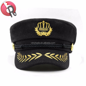 Embroidery Army Cap Captain Caps - Buy Army Woodland Caps,Army Cap,Sea  Captain Caps Product on Alibaba com
