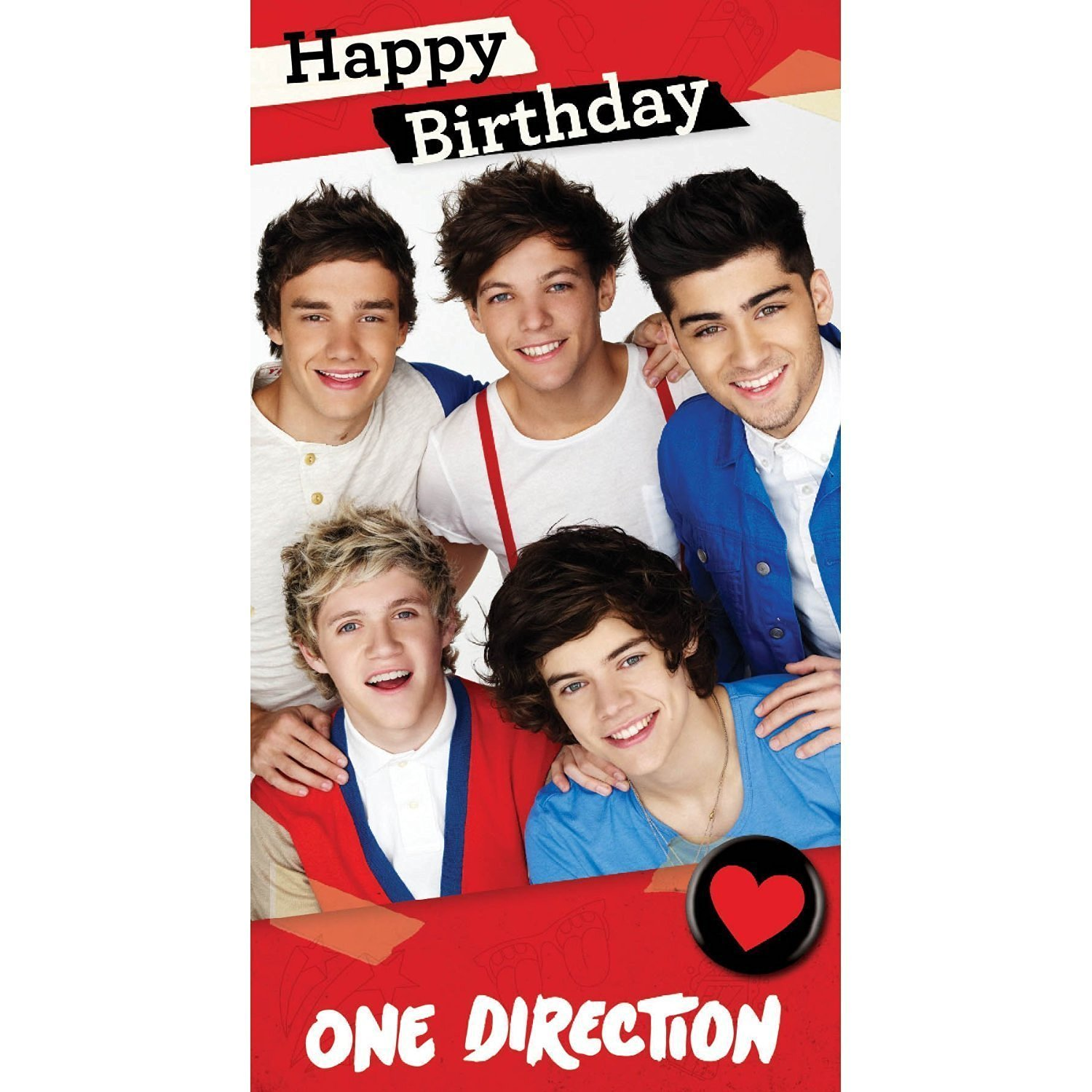 Cheap one direction birthday find one direction birthday deals on get quotations one direction fold out poster birthday card bookmarktalkfo Gallery