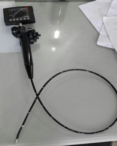 All-in-one portable video endoscope with 2.2mm channel, 4-way, 3.5'' LCD, 1.0M testimg cable