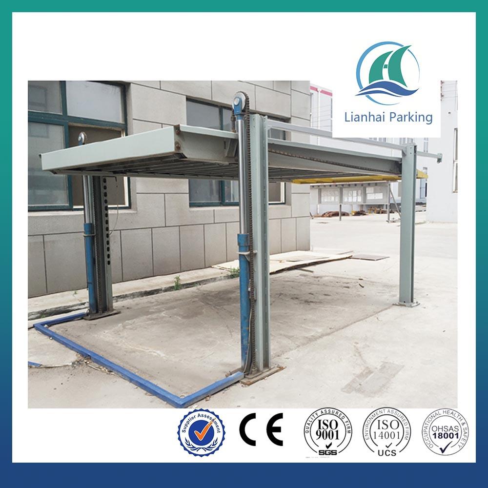Vente chaude 4 poste 2 niveau parking ascenseur parking for Ascenseur voiture garage
