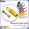 BJ-CC-001 New arrrival Gold CNC Aluminum Motorcycle Cable Wire Holder
