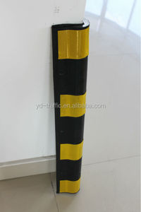 100cm ronuded rubber corner guard wall protect corner guard circular corner guard high quality