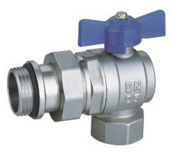 Full Bore Thread 90 degree brass ball valve for water gas oil