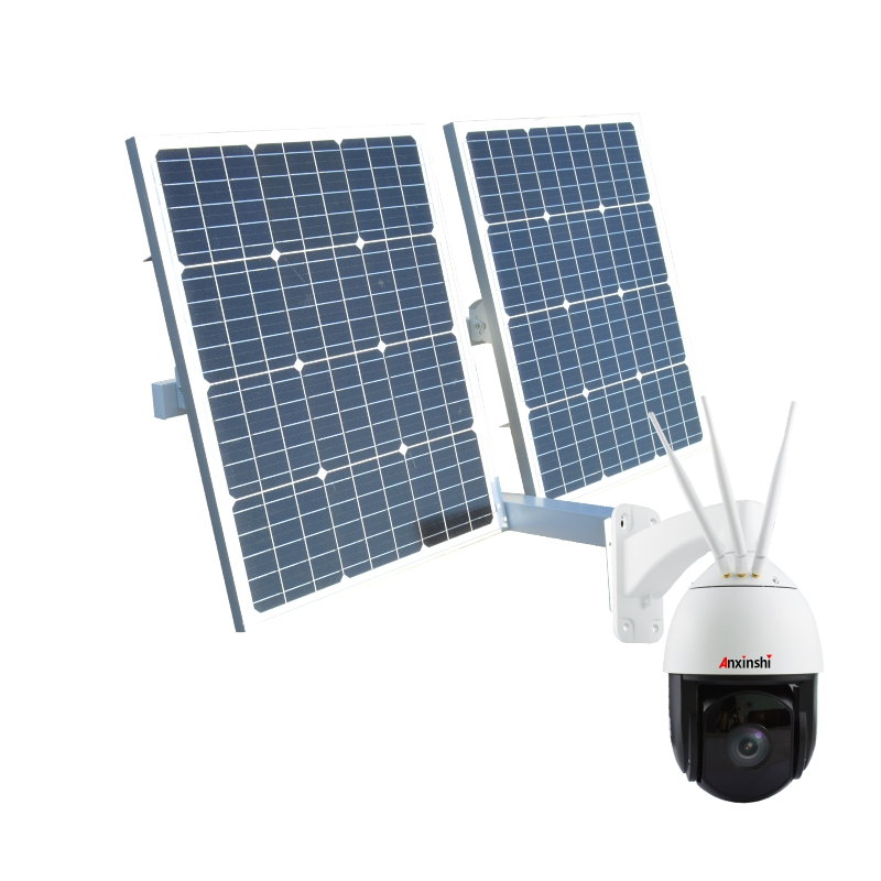 Outdoor 40A/60A/80A Power Energy Solar Panel 4G <strong>Camera</strong> Security System IP Wireless PTZ <strong>Camera</strong> For Highway Industry Farm