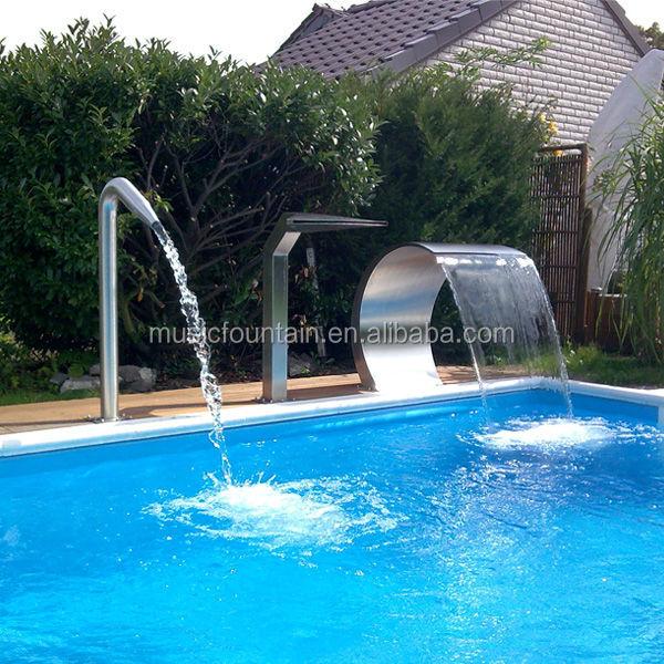 Fabrica de suministro de acero inoxidable piscina cascada - Swimming pool in spanish language ...