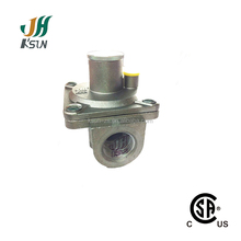 natural gas pressure reduction regulator for oven