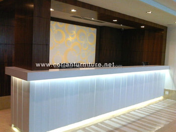 Seamless Solid Surface Made Hotel Cafe And Restaurant Bar Counter ...