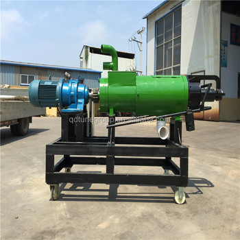 animal dung biogas slurry dewatering solid liquid separator