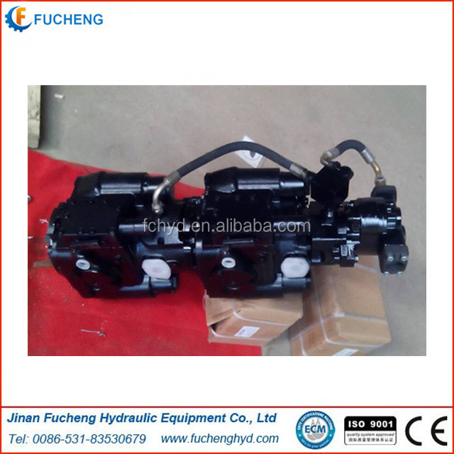 Sauer PV 22+23 double hydraulic piston pump used for excavator
