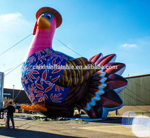 customized inflatable turkey/ giant inflatable advertising turkey model/ PVC inflatable turkey balloon