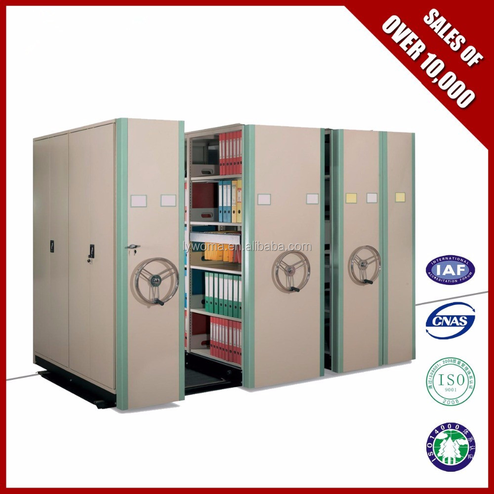 Mechanical Barcode Office/library Book Security Mobile Shelving ...