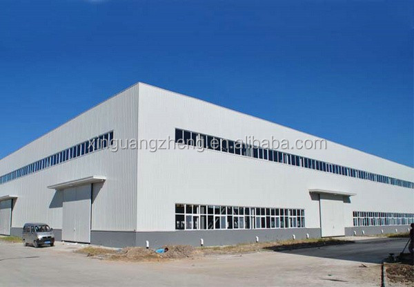 multi-span construction design light steel frame building cost of warehouse