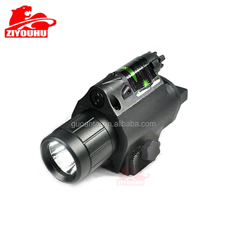 200 Lumens White Light Tactical M6 LED Laser Rifle Scope with Gun Mount air rifle laser flashlight