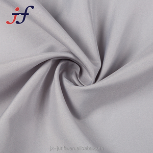 100% Polyester 190T Woven Pongee Lining Fabric for Garment