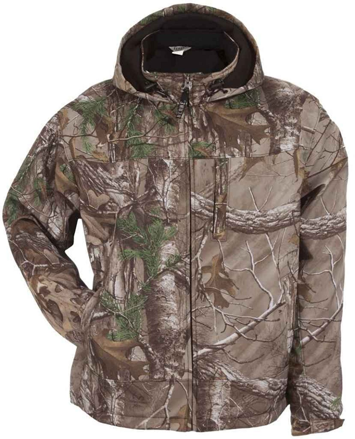 f3f0e206c274d Get Quotations · Berne Men s Shedhorn Realtree Camo Softshell Jacket 3XL  and 4XL - Gjs202xtar X