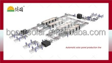 Solar module panel small production line turnkey assembly line low price 10MW, 20MW, 50MW