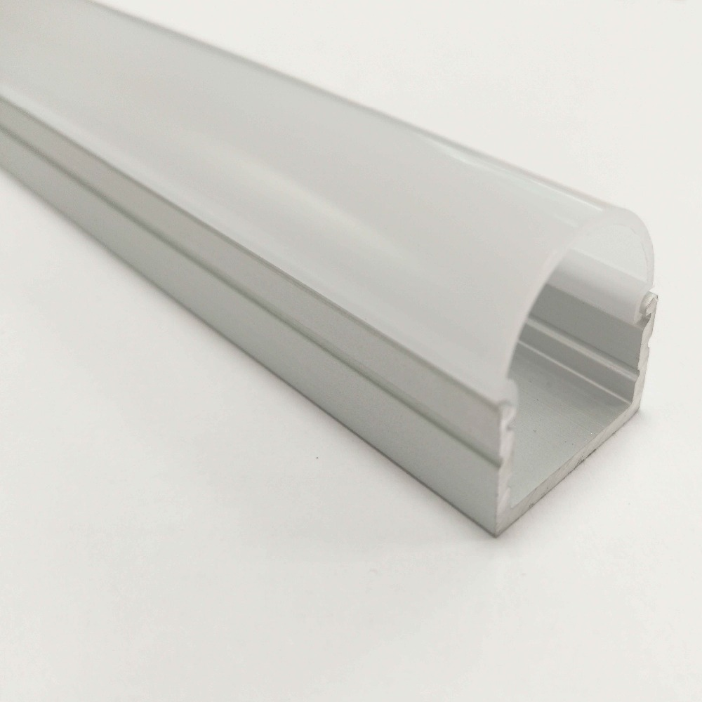 LED linear aluminium profiles install the ceiling/drywall