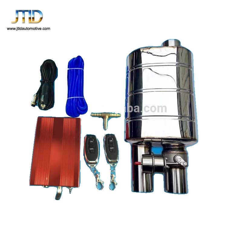 wholesale Electric Exhaust Muffler with Cutout Valves from JTLD remote control