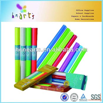 neon/fluorescent color self adhesive contact paper for decoration
