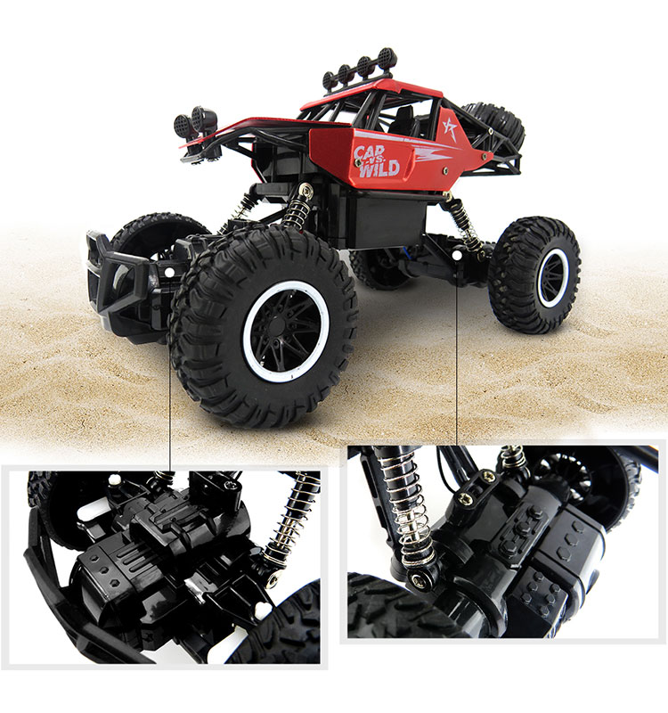 6. SL-109A_Red_Metal_Off-road_Climbing_RC_Car
