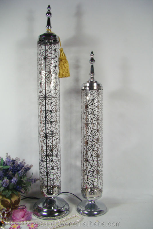 Tall Stainless Steel Antique Metal Hanging Candle Holders Iron