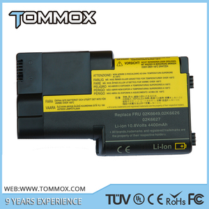 10.8V 4400MAH battery For IBM ThinkPad T20 T21 T22 T23 T24 rechargeable Laptop Battery