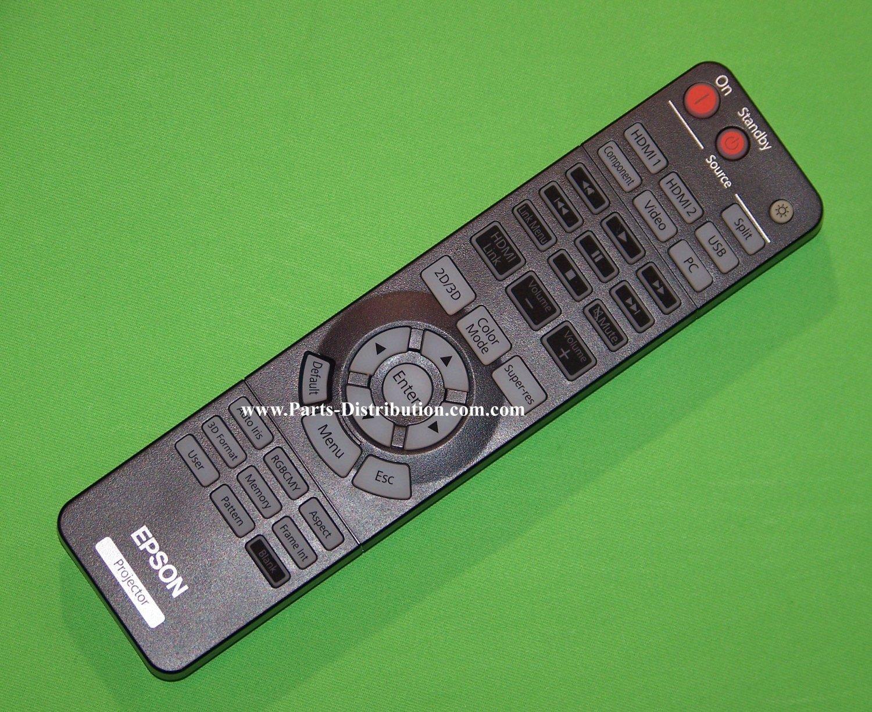 Epson Projector Remote Control: PowerLite Home Cinema 3020, 5020, 5020 UB