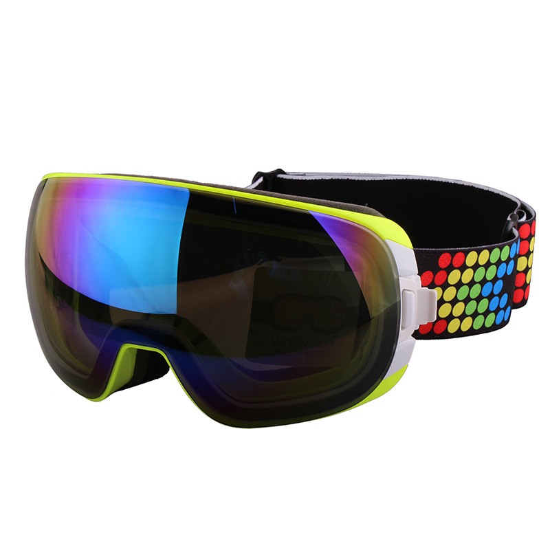 China new style ski goggles custom snowboarding goggles
