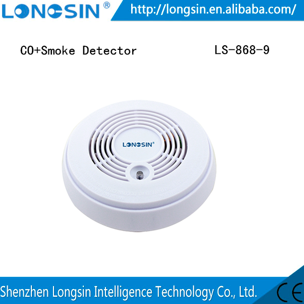 Compound Carbon Monoxide detector CO&Smoke detector advance CO detector