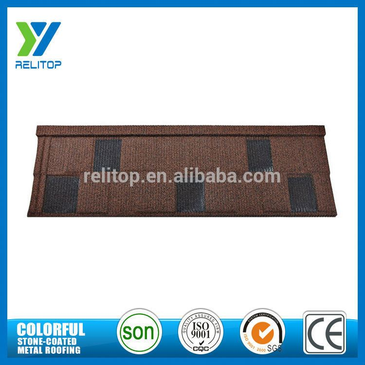 Sand Chip Coated Light Weight Roof Tile For England
