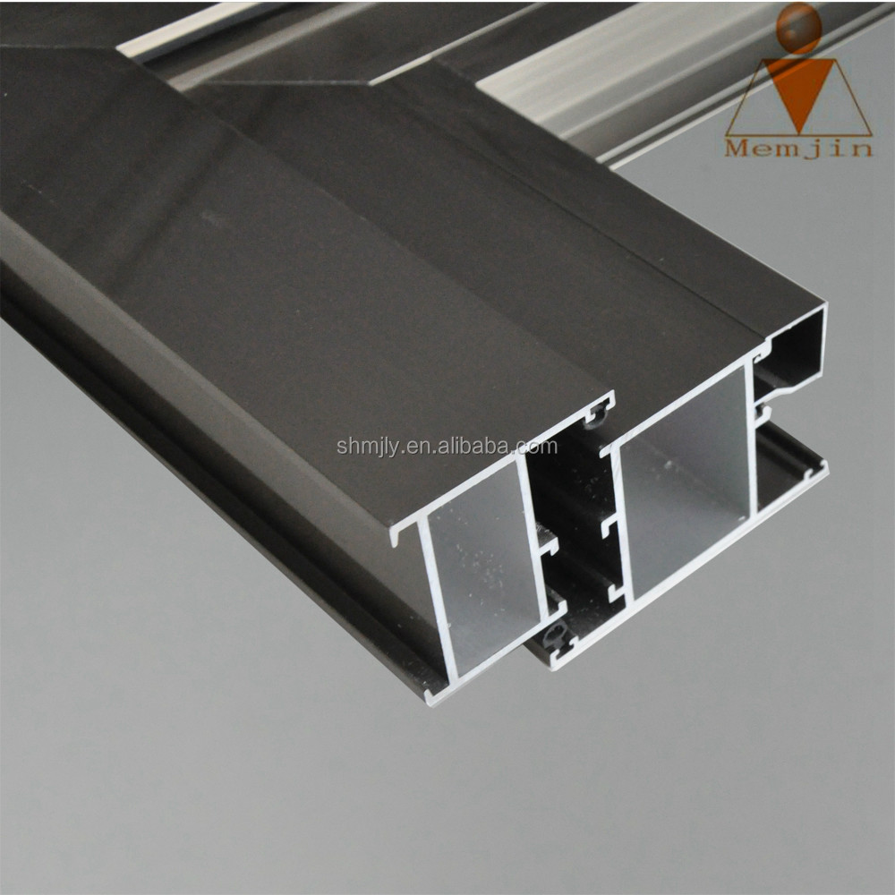 aluminium profiles l-shaped for doors and windows