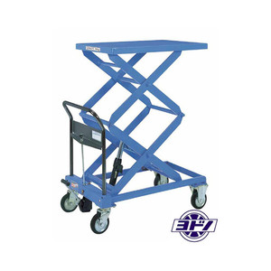 250KG Loading Capacity Steel Warehouse Work Hydraulic Hand Lift Table