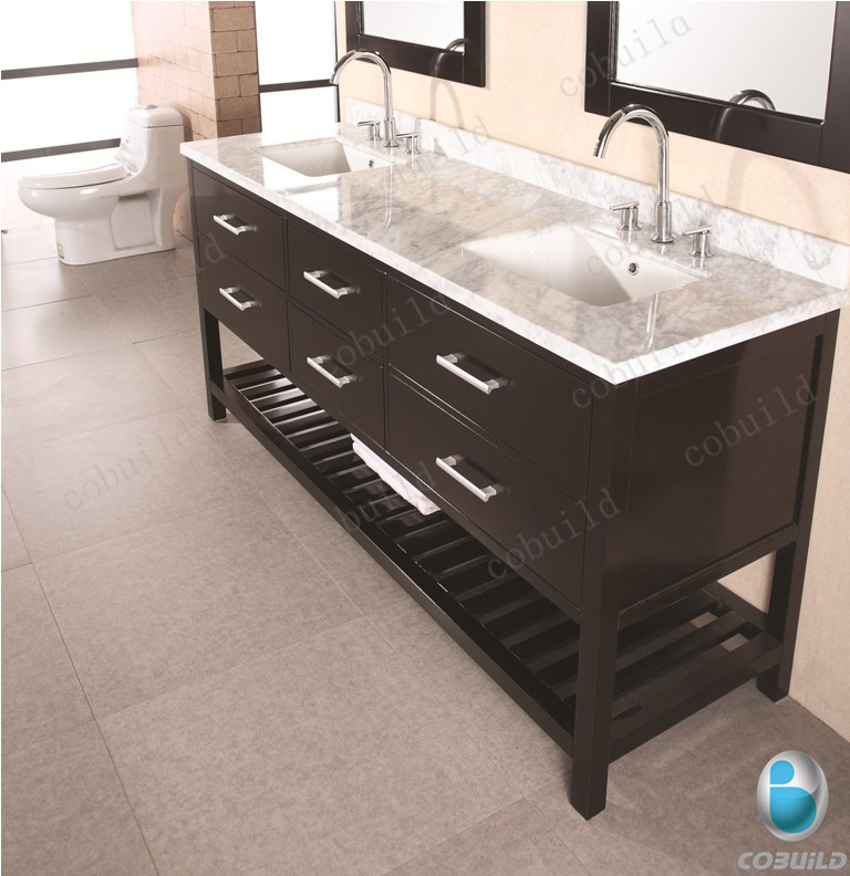 Best Place To Buy Bathroom Mirrors: 72inch Double Sink Marble Top Bathroom Mirror Cabinet