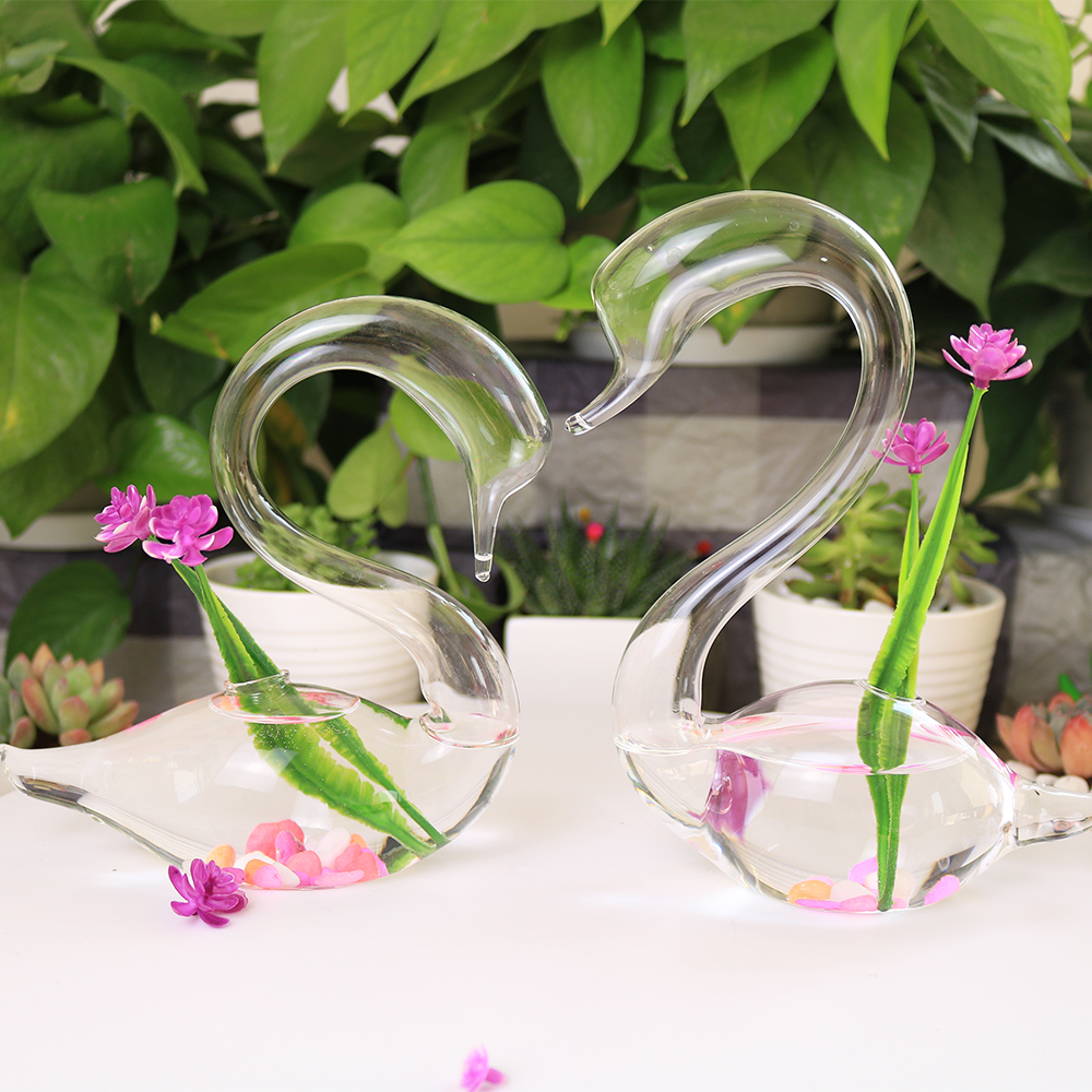 Glass swan vase glass swan vase suppliers and manufacturers at glass swan vase glass swan vase suppliers and manufacturers at alibaba floridaeventfo Choice Image