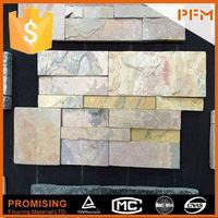 Facade use natural yellow indian autumn slate tiles