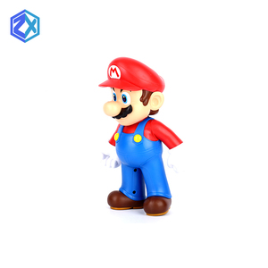 OEM Factory customized injection famous movie cartoon movable Super Mario Bros action figures