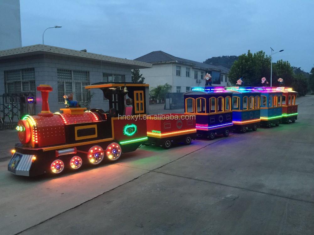 Direct Manufacturer Best Selling Adult Rides Train Set
