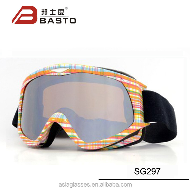 Well-known ski goggles