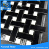 High Quality white mixed black Wall Decoration Mosaic art