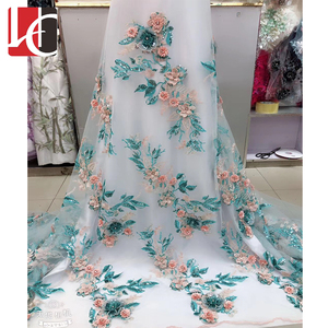 HC-45920 2019 New design embroidery thailand lace fabric